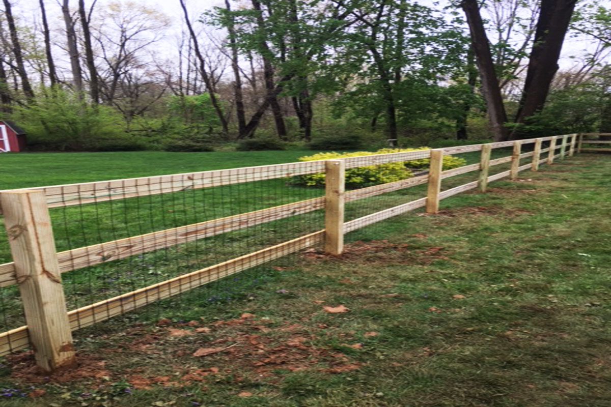 Best nj fence company welded wire fencing all custom